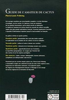 Livres Couvertures de Guide de l'amateur de cactus