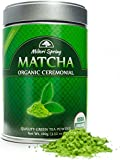 Organic Ceremonial Matcha (Emerald Class 100g) Chef's Choice Quality Japanese Matcha Powder For Beverages, Baking and Beginner Brew, Kosher, Vegan, USDA