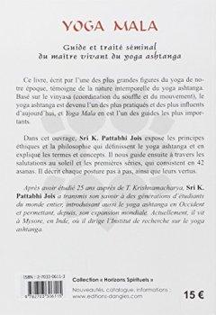 Livres Couvertures de Yoga mala