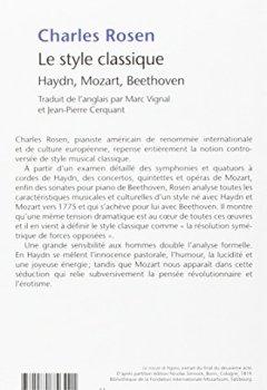 Livres Couvertures de Le Style classique : Haydn, Mozart, Beethoven