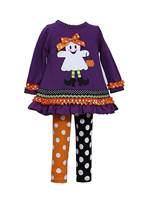Bonnie Jean Little Girls' Trick Or Treat Legging Set