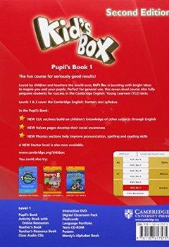 Livres Couvertures de Kid's Box Level 1 Pupil's Book