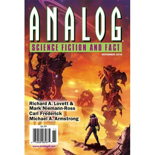 November 2010 issue of Analog Science Fiction & Fact magazine