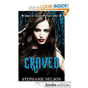 Craved, a Paranormal Romance/Mystery (#1 in the Gwen Sparks Series)
