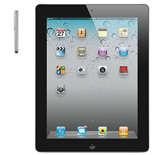 Apple iPad 2 MC769LL/A Tablet 16GB, WiFi, Black With Bonus Stylus (Certified Refurbished) FC769LL/A