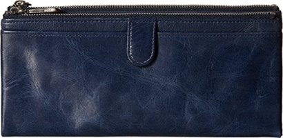 Hobo-Womens-Leather-Vintage-Taylor-Clutch-Wallet-Royal-One-Size