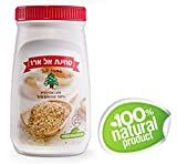 Zuckerman 100% Pure Tahini Sesame Seed Paste - Al Arz Elarz Brand All Natural -Traditional Middle Eastern Taste -Delicious Nutty Flavor Made from Freshly Ground Raw Sesame Seeds ONLY!- 17.6oz/500gr