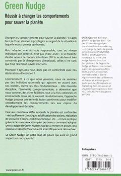Livres Couvertures de Green nudge : Réussir à changer les comportements pour sauver la planète