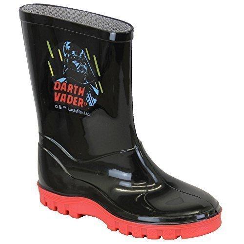 Boys' Star Wars Boots STARWELLY Black UK 7/US 8