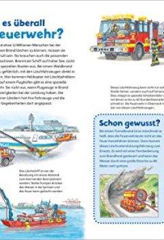 Buchdeckel von WAS IST WAS Junior Band 4. Feuerwehr: Welche Aufgaben hat die Feuerwehr? Wie verhält man sich bei einem Brand? (WAS IST WAS Junior Sachbuch, Band 4)