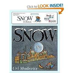 Snow book & CD set