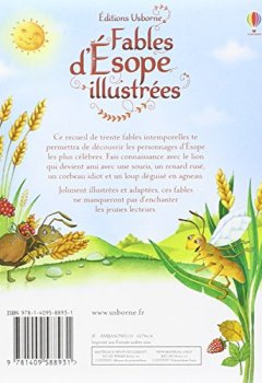 Livres Couvertures de Fables d'Esope illustrées