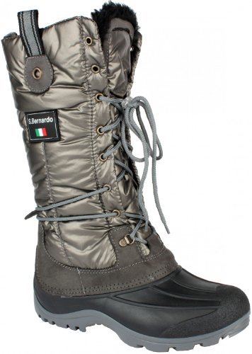 Original San Bernardo After Ski Winterstiefel Winterboot anthrazit Groesse-37