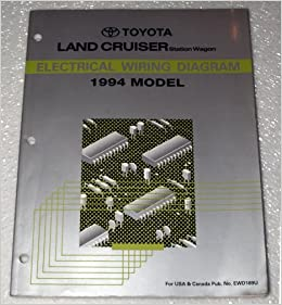 1994 Toyota Land Cruiser Electrical Wiring Diagram (FZJ80
