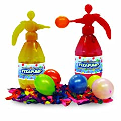 ItzaPump Water Balloon Filling Station with 300 Biodegradable Water Balloons (colors vary)
