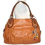 Large Charm Hobo Handbag
