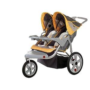 InStep Grand Safari Swivel Wheel Double Jogger
