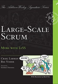 Buchdeckel von Large-Scale Scrum: More with LeSS (Addison-Wesley Signature Series (Cohn))