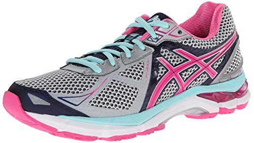 ASICS Women's GT-2000 3 Trail Running Shoe Lightning/Hot Pink/Navy 7 B - Medium