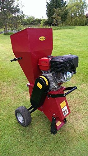 51w6ADTiATL - BEST BUY #1 Garden Chipper Shredder 15HP with Electric Start from Titan Pro