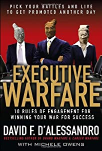 """Cover of """"Executive Warfare: 10 Rules of ..."""