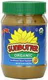 SunButter Organic Sunflower Seed Spread, 16-Ounce Plastic Jars (Pack of 3)