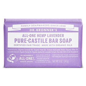Dr-Bronners-Magic-Soaps-Pure-Castile-Soap-All-One-Hemp-Lavender-5-Ounce-Bars-Pack-of-6