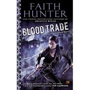book cover for Blood Trade by Faith Hunter