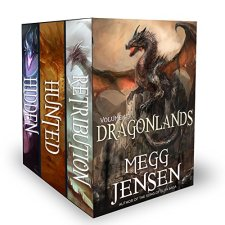 Dragonlands, Books 1 - 3: Hidden, Hunted, and Retribution| wearewordnerds.com