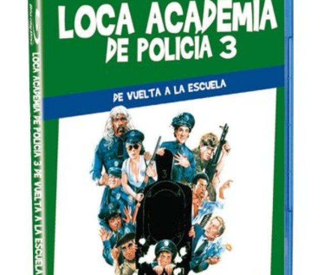 Capturas Blu Ray Loca Academia De Policia Iii Police Academy 3 Back In Training 1986 Jerry Paris Ed Esp Warner