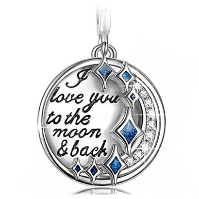 NinaQueen-I-Love-You-to-the-Moon-and-Back-925-Sterling-Silver-Charms-with-Cubic-Zirconia-Dangle-Charms-Best-Love-Gifts-a-great-gift-for-MomWifeGirlfrienddaughter-and-friends-on-Birthday-Anniversary-Va
