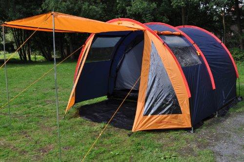 nordikcamping zelte 4 mann tunnelzelt der beste zelte. Black Bedroom Furniture Sets. Home Design Ideas