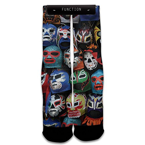Function - Luchador Masks Subllimated Sock