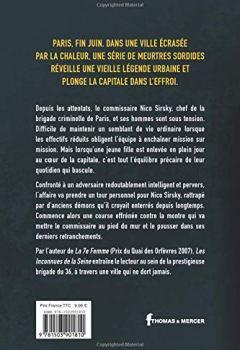 Livres Couvertures de Les Inconnues de la Seine