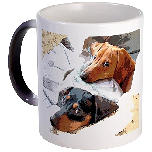 Naptime Love Dachshunds - 11oz Coffee Cup