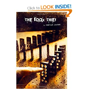 Cover of The Book Thief - boy playing dominoes