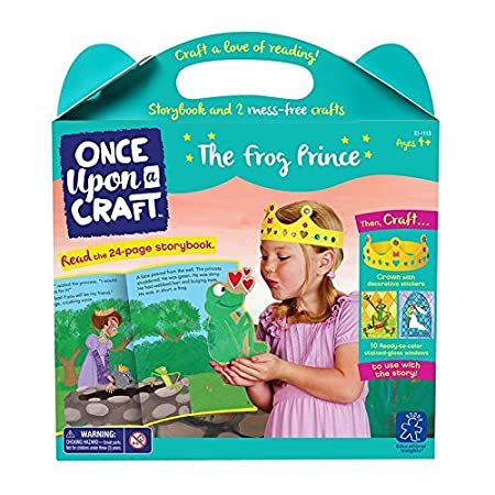 Educational Insights Once Upon a Craft - The Frog Prince Educational Craft