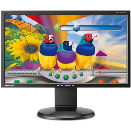 Viewsonic VG2228WM-LED 22-Inch Ergonomic Widescreen LED Monitor