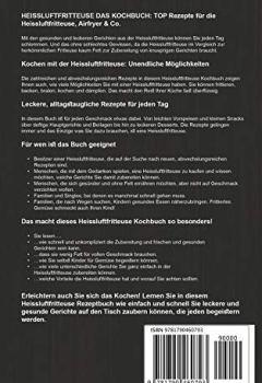Cover von HEISSLUFTFRITTEUSE DAS KOCHBUCH: TOP Rezepte für die Heissluftfritteuse, Airfryer & Co.