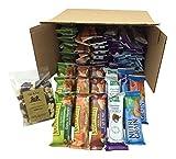Healthy Bar Snack Mix - Sweet & Salty 50 Granola Bar Bundle - Special K, Kashi, Nature Valley + Bonus Guy & Gal Energy Mix