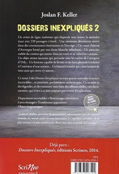 Livres Couvertures de Dossiers inexpliqués : Tome 2, Nouvelles affaires authentiques : surnaturel, étrange, insolite