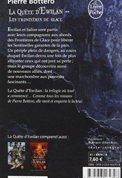 Livres Couvertures de Les Frontières de glace (La Quête d'Ewilan, Tome 2)
