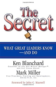 """Cover of """"The Secret: What Great Leaders ..."""