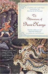 """Cover of """"The Adventures of Amir Hamza (M..."""