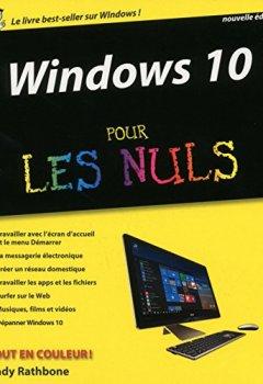 Livres Couvertures de Windows 10 pour les Nuls, 2e