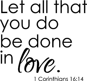 """Download Amazon.com - """"LET ALL THAT YOU DO BE DONE IN LOVE"""" 1 ..."""