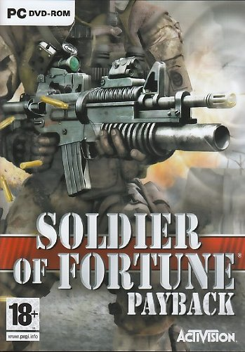 Soldier of Fortune: Payback [PC] - Front Cover