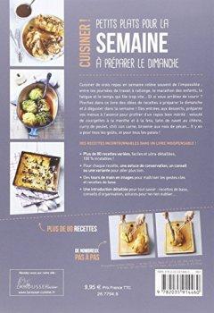 Livres Couvertures de Petits plats pour la semaine à préparer le dimanche