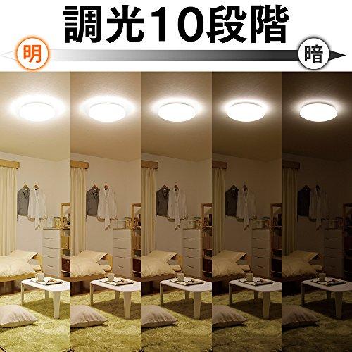 アイリスオーヤマ LEDシーリングライト ~6畳 調光タイプ CL6D-4.0