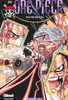 Livres Couvertures de One Piece - Édition originale - Tome 89